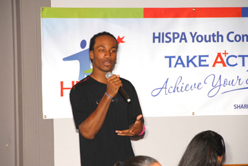 Michael Hardy at HISPA
